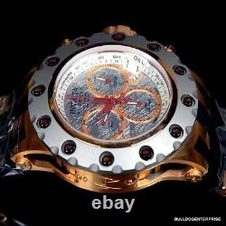 Invicta Reserve Specialty Subaqua Meteorite Rose Gold Tone Swiss Made Watch New