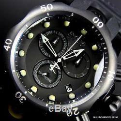 Invicta Reserve Venom Black Combat Chronograph Swiss Movement 52mm Watch New