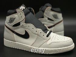 Jordan 1 High OG NYC To Paris/Smoke Grey/Pink/Black Sz 13 CD6578-006