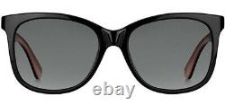 Kate Spade Danalyn Polarized Women's Black/Pink Sunglasses 03H2 WJ