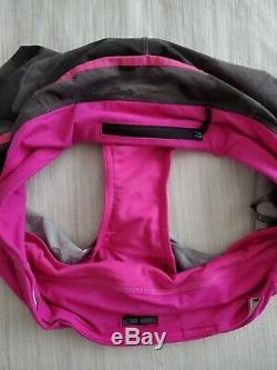 Lululemon Size 6 SPEED SHORT Wren Camo Paris Pink Running Shorts Grey Black