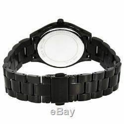 Michael Kors MK3587 Mini Slim Runway All Black Wrist Watch for Women