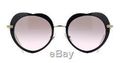 Miu Miu NOIR METAL SMU54R black/grey pink shaded (1AB-4K0) Sunglasses