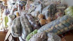 Mixed lot of knitting / crochet wool 100 balls yarn 100g clearance sale all dk