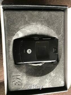 Motorola RAZR V3 Black (Unlocked) Smartphone SUPER COOL VINTAGE RARE