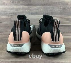 NEW Adidas UltraBOOST Guard W Black Grey Pink Womens SZ 9.5 Running Shoes FU9465