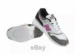 NEW BALANCE MADE IN USA Grey/Pink/Black M997LBK Men's size 10