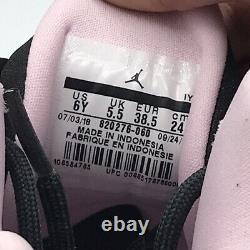 NEW JORDAN JUMPMAN TEAM II WOMEN'S SIZE 7.5 (6Y) Grey/ Black/ Pink 820276-060