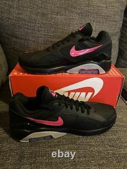 NEW Nike Air Max 180 Blink Black Pink Wolf Grey Blast Size 9.5 AQ9974-001