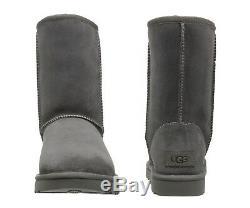 NEW UGG Brand Women's Classic Short II Boots Shoes Black Chestnut Grey Sand Navy