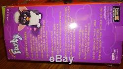 NIB 1998 ORIGINAL FURBY 70-800 Gray Black Spots Pink Belly Ear BOX damage BG