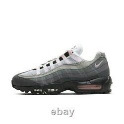 NIKE Air Max 95 Premium Black Pink Grey Running Shoes CJ0588-001 Size 5-12
