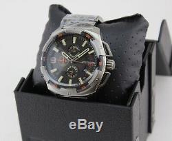 New Authentic Diesel Heavyweight Gunmetal Grey Chronograph Mens Dz4394 Watch