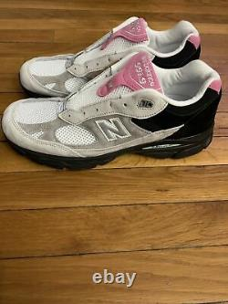 New Balance 991.9 M9919FR Grey / Pink / Black Made In England Mens Size 11