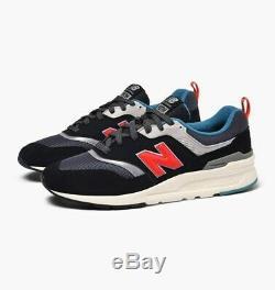 New Balance 997 Black Grey Pink Lifestyle Sneakers Men Running Shoes CM997HAI