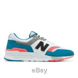 New Balance 997h Cm997hcs Deep Ozone Blue/guava Pink/white/grey/black-suede/mesh