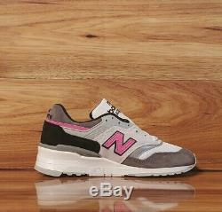 New Balance MADE IN USA Grey/Pink/Black M997LBK Men's 5.5 Women's 7