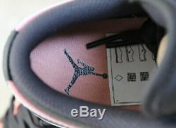 New Nike Air Jordan 1 Low AJ1 Quartz Pink Black Grey UK 5 US 5.5 EUR 38
