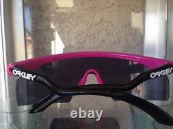 New Oakley Razor Blade pink black trigger/grey 2005. II. GENERATION