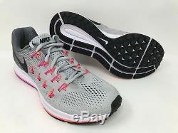 New! Women's Nike 831356-006 Air Zoom Pegasus 33 Platinum/Gray/Pink/Black A23
