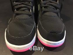 Nike Air Command Force Black Wolf Grey Jade Pink Spurs 684715-001 SZ 8 VGUC