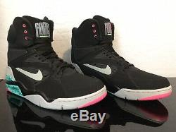 Nike Air Command Force Size 13 Spurs Robinson Black Grey Jade Pink 684715 001