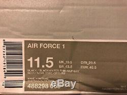 Nike Air Force 1 Black/hyper Pink-wolf Grey Size Men's 11.5 488298-063