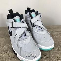 Nike Air Force Max CB Charles Barkley Sz 9.5 Wolf Grey Black AJ7922-003 Pink 34