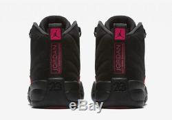 Nike Air Jordan 12 XII Retro Rush Pink Black Dark Grey 510815-006 Girls Boys GS