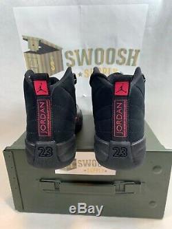 Nike Air Jordan 12 XII Retro SZ 5.5Y Black Dark Grey Rush Pink GS 510815-006