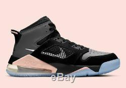 Nike Air Jordan Mars 270 CRIMSON TINT PINK BLACK GREY CD7070-002 Men's Size 10.5