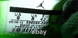 Nike Air Jordan Men's Flight Origin Sneaker Gray/Lime/Pink/Black Size 9