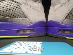 Nike Air Jordan V 5 Retro Bel Air Og Cool Grey Pink Purple Black 621958-090 10