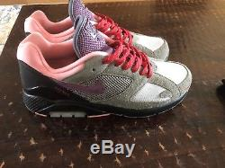 Nike Air Max 180'Dusk To Dawn' Black, Grey, Red and Pink Mens Size 10