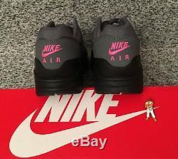 Nike Air Max 1 Black Grey Purple Pink AR1249-002 SIZE 9 UK US 10 EU 44