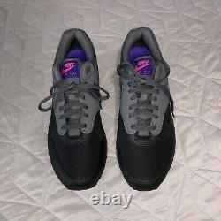 Nike Air Max 1 Miami Nights Black Grey Purple Pink AR1249-002 Men's Size us 11