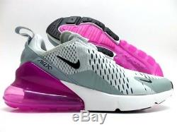 Nike Air Max 270 Barely Grey/black-light Pumice Size Women's 8 Ah6789-004