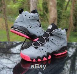 Nike Air Max 2 CB'94 Charles Barkley Size 7Y Grey Black Pink 488245-005