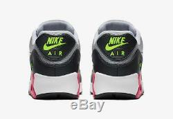 Nike Air Max 90 Essential Aj1285 020 Wolf Grey/white/rush Pink/volt/black