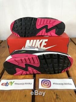 Nike Air Max 90 Grey Rose (Grey, Black, Pink)