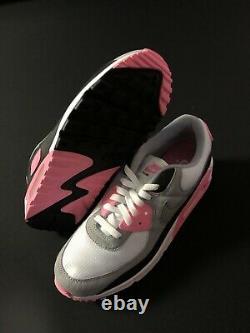 Nike Air Max 90 Recraft Rose White Grey Black Pink CD0881-101 Mens Size 10