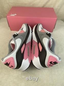 Nike Air Max 90 Recraft Rose White Pink Particle Grey Black OG CD0881-101 Sz 12