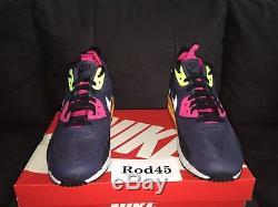 Nike Air Max 90 Sneakerboot NS Boot Grey Black Pink Green 11.5