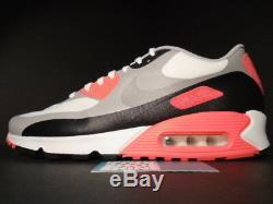 Nike Air Max 90 V Sp Patch White Cool Grey Infrared Pink Black 746682-106 Og 11