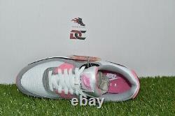 Nike Air Max 90 Womens CD0490-102 White Grey Black Rose Pink Shoes Multi Sizes