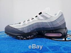 Nike Air Max 95 Black / Pink Foam / Gunsmoke Grey Fog CJ0588-001 BRAND NEW SZ 13