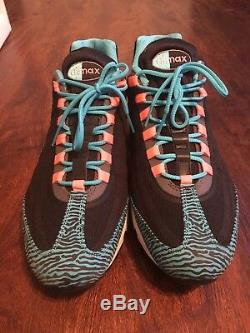 Nike Air Max 95 Premium Tape Black/Pink-Gamma Blue-Grey Zebra