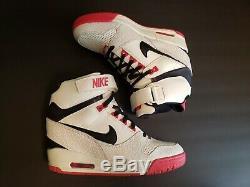 Nike Air Revolution Sky HI Womens Size 7 Shoes White Black Pink Grey 599410 100