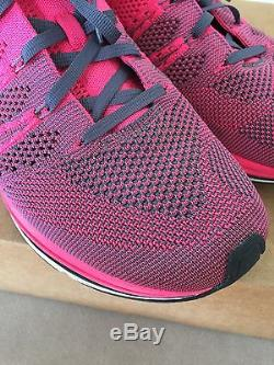Nike Flyknit Trainer 10 Pink Black White Volt Oreo Multi grey Lunar Racer