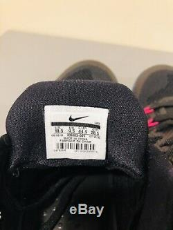 Nike Kobe XI 11 Invisibility Cloak Sz 10.5 Black Wolf Grey Pink Blast 836183-005